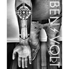 lighthouse geometric tattoo - Google Search