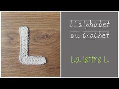 ALPHABET au crochet en français : La lettre L au crochet
