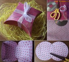 How to make gift boxes using a CD as a marker #Entertainment #Trusper #Tip