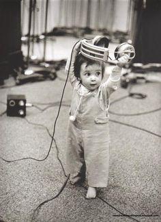 Mary McCartney, taken by Linda.