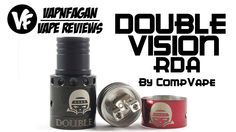 Double Vision RDA by CompVape - VapnFagan Reviews