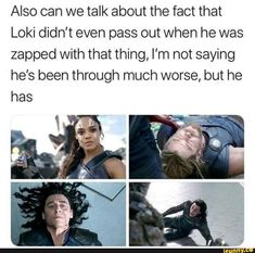 the ending scene of there was a scene of Loki talking with Dr selvig. remember when Thanos tortured Thor to get the tesseract from Loki? Funny Marvel Memes, Dc Memes, Avengers Memes, Marvel Jokes, Marvel Facts, Loki Thor, Marvel Dc Comics, Marvel Heroes, Marvel Avengers