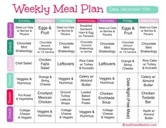 30-Day Healthy Meal Plan | 30 Day Meal Plan | Diet Plan ...