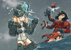 Pacific Rim Kaiju, Pacific Rim Jaeger, Figuras Disney Infinity, Character Art, Character Design, Pawer Rangers, Strike Witches, Anime Military, Futuristic Art