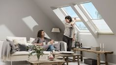 Get your VELUX Roman blind. Choose between the full range of sizes available in 20 contemporary fabrics.