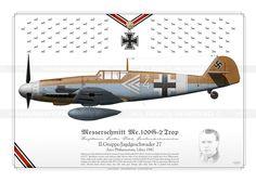 Me.109G-2 Rödel Luftwaffe JI-07