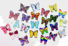 """""""The Butterfly Project"""" submissions from ChildCare Education Institute (CCEI). Create your own and send them to Holocaust Museum Houston! http://www.hmh.org/ed_butterfly1.shtml"""