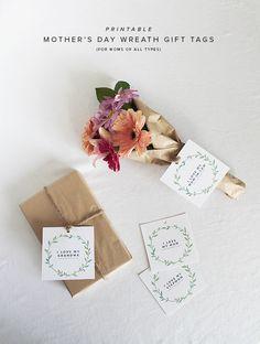 Etiquetas de regalo para todo tipo de madres: abuelas, mamás, suegras... >> printable (all) mother's day gift tags | almost makes perfect