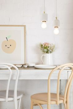 Keep your home well-lit this winter to maintain a warm feeling throughout. Check out this and other great ideas for giving your home a designer look. #winter #inspiration