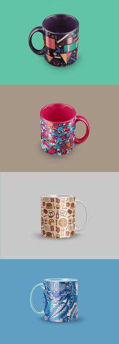 Free Mug Mockup (11 MB) | By Blatom Design on Behance | #free #photoshop #mockup
