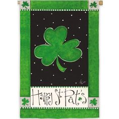 Buy Happy St. Pat's Day House Flag with free same day shipping and everyday low prices.
