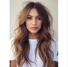 40 Long Hairstyles and Haircuts for Fine Hair - Hair Cut Long Fine Hair, Long Layered Hair, Long Hair Cuts Wavy, Long Shag Hair, Chic Hairstyles, Pretty Hairstyles, Long Wavy Hairstyles, Layered Hairstyle, Hairdos