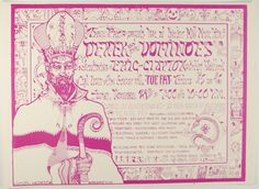 Psychedelic Art Exchange | Concert Poster Store — 1970 Derek and the Dominoes, Painter's Mill *Mint Condition*