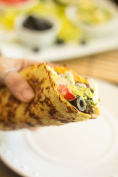 Satisfy your hunger for Mexican food with these Paleo Tacos in Soft Cauliflower Tortillas generously garnished with all your favorite toppings! Meat Recipes, Seafood Recipes, Paleo Recipes, Mexican Food Recipes, Low Carb Recipes, Whole Food Recipes, Cooking Recipes, Paleo Ideas, Paleo Food