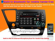 Android Car DVD Player Radio GPS Navigation TV Bluetooth Touch Screen 3G Wifi for Honda Civic Sedan 2014 2015 $420.20  13% off http://www.happyshoppinglife.com/android-car-dvd-player-radio-gps-navigation-tv-bluetooth-touch-screen-3g-wifi-for-honda-civic-sedan-2014-2015-p-2084.html