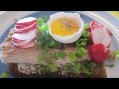 Smørrebrød Danish Open Face Smoked White Fish Sandwich - Simple and Delicious!