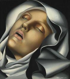 """Sainte Thérèse d'Avila"" by Tamara de Lempicka, 1930"