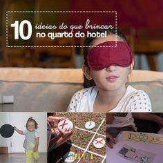 Da próxima vez que for viajar, não deixe de levar estas dicas de brincadeiras para fazer no quarto do hotel. Não vai ter ninguém reclamando de tédio!