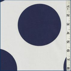 Navy Blue/Off White Stretch Sheeting - Fabric By The Yard At Discount Prices
