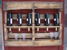 Unusual holder wine