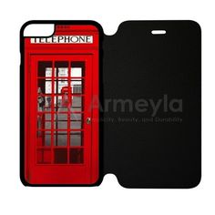 London Telephone Booth iPhone 6/6S Flip Case | armeyla.com