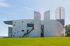 Ronchamps Notre Dame du Haut Le Corbusier by Dennis Hambeukers, via Flickr