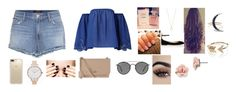 """""""Sans titre #1690"""" by myanna-living ❤ liked on Polyvore featuring J Brand, Accessorize, Valentino, Speck, Olivia Burton, Vivienne Westwood, Ray-Ban, 1928, Liberty and EF Collection"""