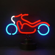 "Shine brighter with our Neon Sculptures! Each of our stand up Neon Lights will fill your home or business with a fun and stylish flare. - Dimensions: 17"" Wide x 11"" Tall x 6"" Deep - All you do is plug"