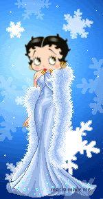 Betty Boop..a winter wonder!