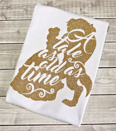 Tale as Old As Time, Belle Shirt, Princess Shirt, Disney Shirt, Glitter Princess… Disney 2017, Walt Disney, Disney Cruise, Disney Style, Disney Love, Disney Family, Disney Vacations, Disney Trips, Infant Toddler