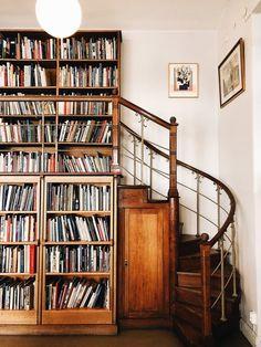 Home Interior Design — Home library – Architecture Home Library Design, Home Design, Home Interior Design, Home Library Decor, Library Room, Design Ideas, Future Library, Interior Ideas, Interior Decorating