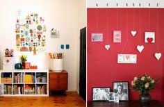 Inspiração para incrementar uma parede sem graça