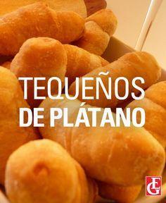 Excelsior Gama | Tequeños de plátano Venezuelan Food, Venezuelan Recipes, Tapas, Healthy Salt, Plantain Recipes, Almond Bread, Spanish Dishes, Island Food, Cuban Recipes