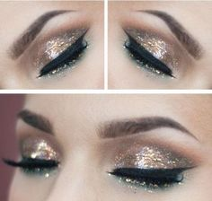 Make up occhi per Capodanno 2014