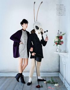 Tim walker for vogue japan september 2012 Gentleman moth! This may be my favourite thing, ever.