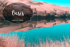 Oasis Lr Presets by FaeryDesign on Business Brochure, Business Card Logo, Professional Lightroom Presets, Creative Sketches, Paint Markers, Pencil Illustration, Watercolor And Ink, Painting & Drawing, Free Design