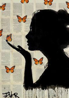 """monarch"" by Loui Jover | Redbubble"