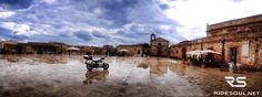 The little town of Marzamemi, in the typical Sicilian style! #motorcycle #tour #italy