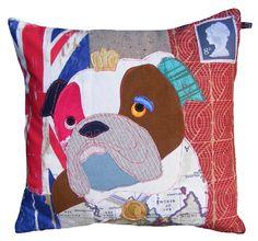 Queenie the Bulldog by Carola van Dyke