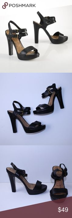 Lauren Ralph Lauren Black Farrah Vachetta Heels Lauren Ralph Lauren Black Leather Strappy Heels in excellent very gently loved condition. Hardly any signs of wear.  Feel free to ask any questions, request measurements or additional photos.  Please submit offers through the offer button. My bundle discount is 15% off 2+! Lauren Ralph Lauren Shoes Heels
