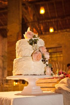 pink peony cake // more on: http://weddingwonderland.it/2014/12/matrimonio-handmade-colori-pastello.html