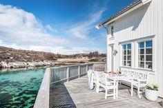 FINN – Delikat bryggehus på fantastiske Røssøya - Helgelands kysten. Med egen brygge og flytebrygge!