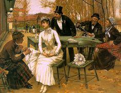 Norbert  Goeneutte, (1854-1894) — The Wedding Morning, 1892.
