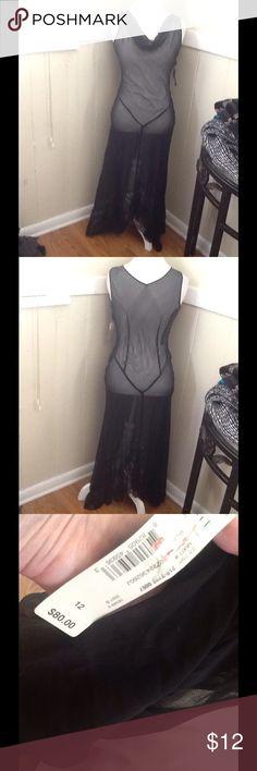 Mixit dress worn over a slip Mixit sheer dress worn over a slip mixit Dresses Maxi