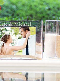 Personalized Sand Unity Vase