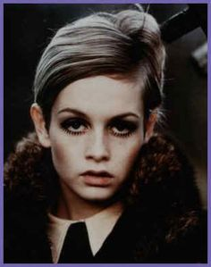 Sixties fashion icon & top model, Twiggy (Lesley Hornby)