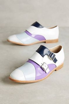 Vanessa Tao Monkstrap Oxfords. I really like these except for the purple part. I think it would make them difficult to wear.