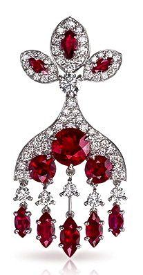 Kokoshnik Earring by Faberge