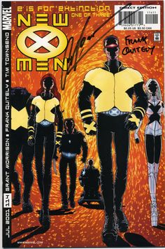New X-Men #114. The start of the daring Morrison / Quitely run.