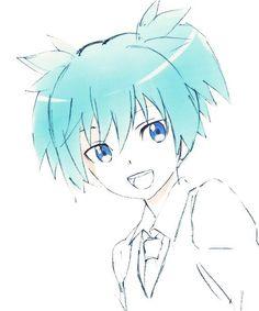 Me Me Me Anime, Anime Guys, Manga Anime, Anime Art, Manga Boy, Assassin, Koro Sensei, Anime Traps, Nagisa Shiota